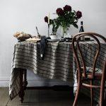 Lovely Linen Tischdecke Stripe