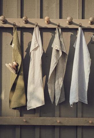 Bereit für Strand und SPA - Badetücher von Lovely Linen
