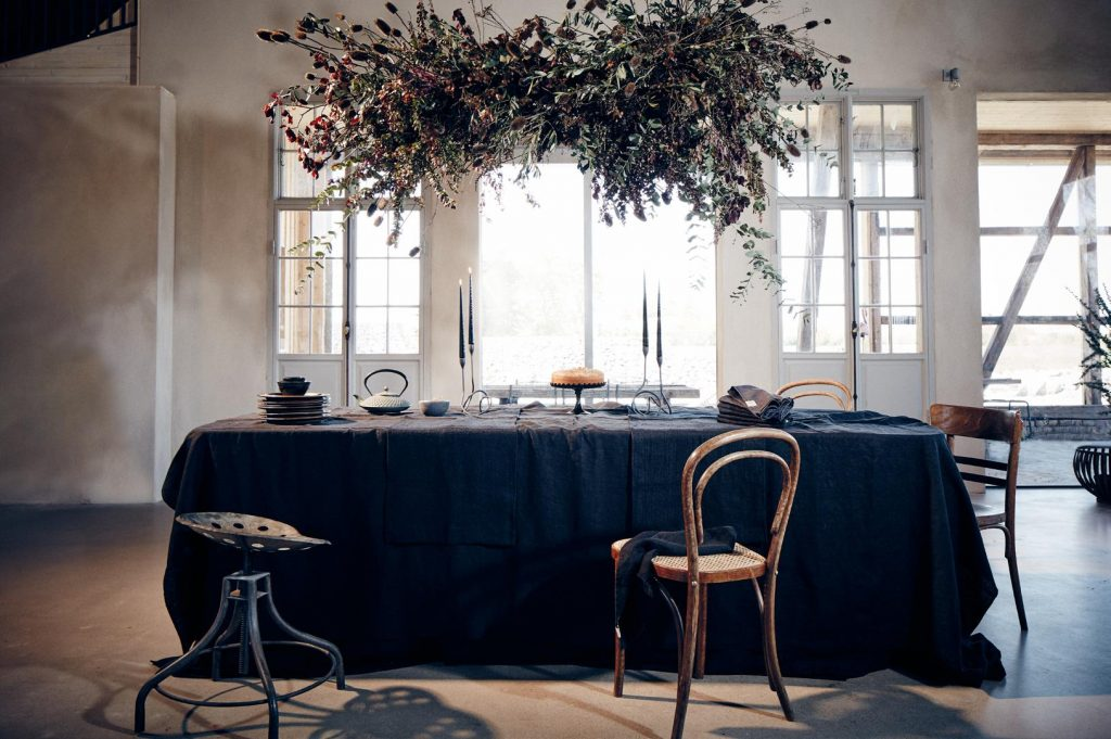 Bettwäsche und Tischdecken aus Skandinavien